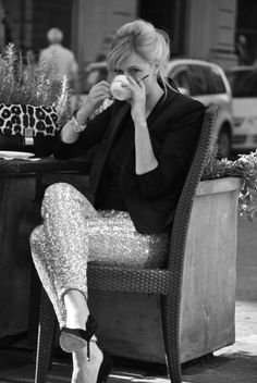 #coffee and a hint of #sparkle, so #pretty