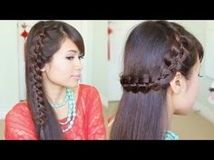 Unique 4-Strand Lace Braid Hairstyle for Long Hair Tutorial