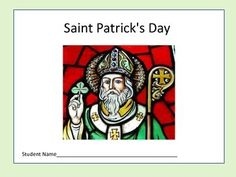 Saint Patricks Day: History, Legends, & Traditions24 pages of the life of Saint Patrick, legends and traditions associated with Saint Patrick s Day.Includes:Short readingsRecall, discussion, higher thinking questionsVocabulary wordsColoring pages & WordsearchRemember to print this .PDF in landscape orientation!