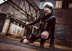 9S from Nier Automata cosplayer sowilu cosplay photographer real #Nierautomata #cosplay #costume