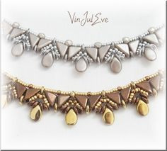 Pearl Necklaces, Necklace Elista is a diagram creation orginale Vinjuleve on Voucher