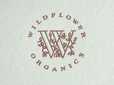 Wildflower letterpress printed cards