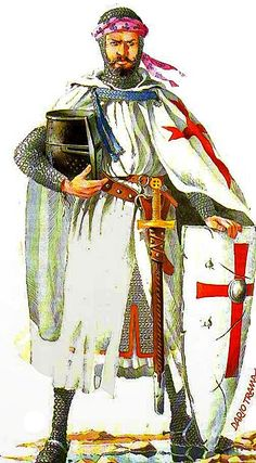 Templars were often the advance shock troops in key battles of the Crusades, as the heavily armoured knights on their warhorses would set out to charge at the enemy, ahead of the main army bodies, in an attempt to break opposition lines. One of their most famous victories was in 1177 during the Battle of Montgisard, where some 500 Templar knights helped several thousand infantry to defeat Saladin's army of more than 26,000 soldiers.
