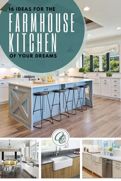 Read Annie and Oak's 16 Ideas for the Farmhouse Kitchen of Your Dreams post to discover top farmhouse kitchen hacks. Still looking for design inspirations for your massive farmhouse kitchen make-over? You are a few moments away in discovering the secret as we about to tell you perfect ideas on how to turn your ordinary farmhouse kitchen into a rustic and cozy hangout place that will surely feast your eyes. Visit us at annieandoak.com for your next farmhouse kitchen goals… Farmhouse Sink Kitchen, Modern Farmhouse, Farmhouse Style, Farmhouse Decor, Kitchen Hacks, Kitchen Ideas, Honeycomb Tile, Butcher Block Countertops, Exposed Wood
