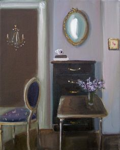 Lilacs by Janet Hill