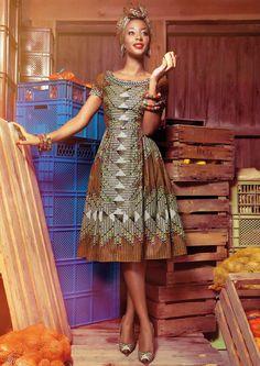 www.lenahoschek.com ~African fashion, Ankara, kitenge, African women dresses, African prints, Braids, Nigerian wedding, Ghanaian fashion, African wedding ~DKK