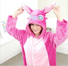 costume pajamas Picture - More Detailed Picture about 2015 Animal Blue/Pink Stitch Onesie Adult Unisex Cosplay Costume Pajamas All In One Party Sleepwear For Men Women Adults Picture in Pajama Sets from Feel happy Shoppingmall | Aliexpress.com | Alibaba Group