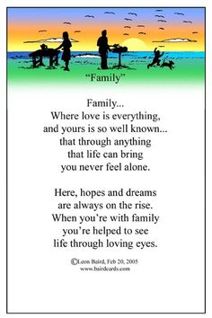 poems for kids about family