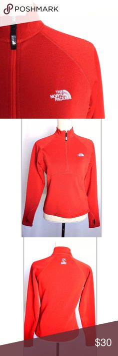 The north face orange sweats sweater size S woman Tomb holes on wrist and embroiled the north face on front. Flight series on back The North Face Sweaters Cowl & Turtlenecks