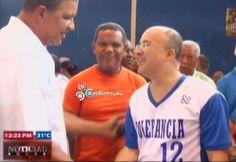 El Procurador De La República Jugando Basketball Con Artistas Del Genero Urbano #Video