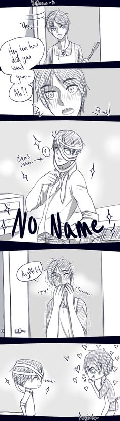 Ribbons - 3 by magickitt || Levi x Eren || The rest is in my RivailleEren Long DJs/Panel/Story board! :3