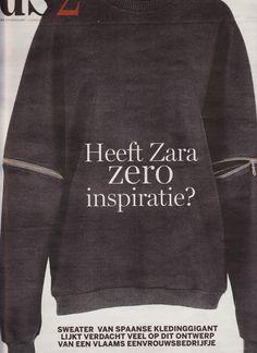 Plagiaat Zara   ZARA   Toos Franken Zara Home, Sweatshirts, Sweaters, Fashion, Moda, Fashion Styles, Trainers, Fasion, Sweater