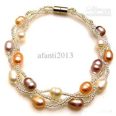 Wholesale Pearl Jewelry - Buy Pearl Jewelry Natural Pearl Bracelet Handmade Jewelry Accessories Mixed Sell, $2.1   DHgate