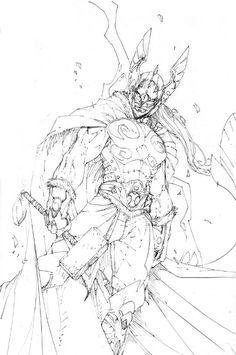 ( Mighty Thor ) Comic Art