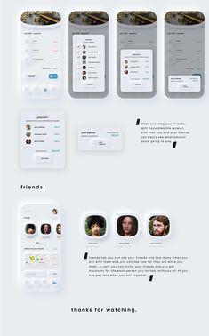 neumorphism ui ux payment app on Behance App Ui Design, Mobile App Design, User Interface Design, Web Design, Mobile Ui, Design Thinking, Motion Design, Bird App, Themes App