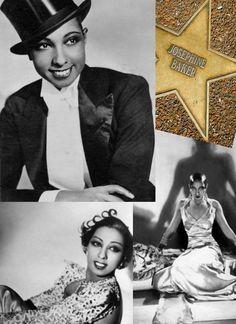 Josephine Baker's Star on St. Louis' Walk of Fame, University City. www.stlouislgbthistory.com