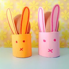 Easter Crafts For Kids, Craft Activities For Kids, Diy For Kids, Kids Fun, Diy And Crafts, Arts And Crafts, Paper Crafts, Easter Bunny, Easter Eggs