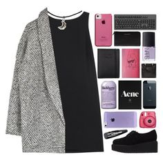 """""""running, running, running"""" by universed ❤ liked on Polyvore featuring RED Valentino, Karl Lagerfeld, Case-Mate, NARS Cosmetics, philosophy, Givenchy, Nava, Forever 21, KikiWantsToKnowMe and kikitags"""