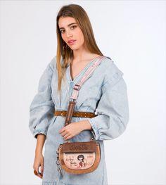 Anekke Arizona - Kabelka do ruky All About Eyes, Mini, Saddle Bags, Arizona, Shoulder Strap, Winter, Collection, Don't Forget, Style Fashion