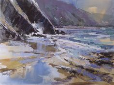 Come for watercolour tuition at Mullion Cove Hotel with Ray Balkwill. http://www.mullion-cove.co.uk/2013/09/16/painting-holidays-in-cornwall-artists-q-a/