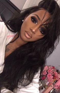 makeup & beauty – Great Make Up Ideas Maquillage On Fleek, Maquillage Black, Dark Skin Makeup, Eye Makeup, Hair Makeup, Natural Makeup, Black Girl Makeup Natural, Black Makeup Looks, Beat Face Makeup