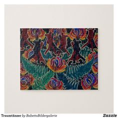 Traumtänzer Puzzle Puzzle, Tapestry, Painting, Home Decor, Map Invitation, Hanging Tapestry, Puzzles, Tapestries, Decoration Home