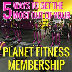 Training worksheet to record gym workouts from Planet Fitness ...