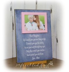 daughter gift gift from mom daughter picture frame daughter - Mother Daughter Picture Frame