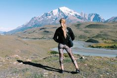 fashion, patagonia, south america, hike, adventure, leopard, leggings, yoga, chanel, ozzie, rag and bone, APL, nature, beauty, mountains, blonde, winter, vacation, travel