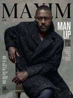 Idris Elba Covers Maxim Magazine September 2015