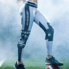 Women's Activewear Leggings Team Football