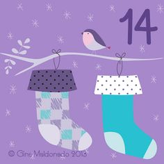 Advent Calendar 2013 © Gina Maldonado 2013