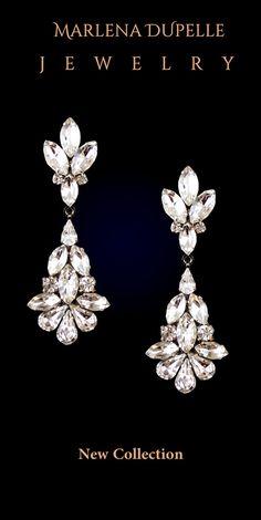CAMILLE - Chandelier Crystal Drop Earrings