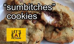 Let's Eat Fiction!: Sumbi*ches Cookies from How I Met Your Mother