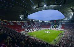 Allianz Arena minutos antes del juego