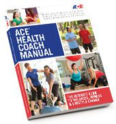 ACE Health Coach Manual.. This year I will be working on Adding Health Coach as my next certification!