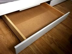 doppelbett 140x200 wei incl roll lattenrost und 2 schubl den ohne matratze in m bel wohnen. Black Bedroom Furniture Sets. Home Design Ideas