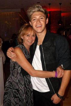 Photo of Niall Horan & his  Mother  Maura Gallagher