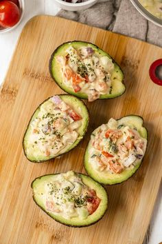 Vegan Stuffed Avocado Salad - Vegan Blueberry
