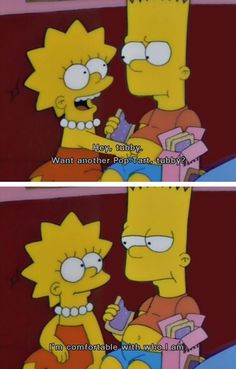We all need to be Bart Simpson right here