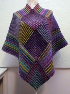 Melody Johnson: Poncho for Joan Hooded Poncho Pattern, Ladies Cardigan Knitting Patterns, Poncho Pattern Sewing, Crochet Poncho Patterns, Knitted Poncho, Knit Crochet, Knitting Ideas, Mens Poncho, Ladies Poncho
