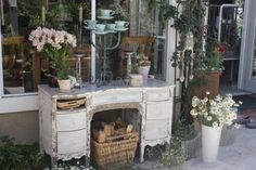 Rooted In Thyme: Repurposed Furniture