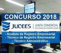 Concurso Jucees 2018 Junta Comercial Do Espirito Santo