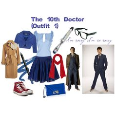 """""""The 10th Doctor (Outfit 1)"""" by ellia on Polyvore"""