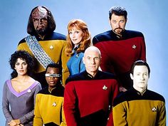 Star Trek, Next generation. The only thing that could be better is the Original with William Shatner.