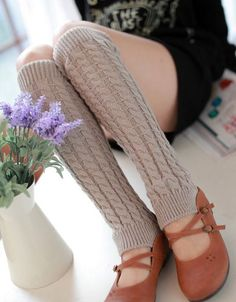 Women Winter Warm Leg Warmers Knitted Wool Crochet Long Sock Fashion Girl Leg Warmer All match Socks Botas Y Leggings, Boots And Leggings, Tights, Leg Warmers For Women, Girls Leg Warmers, Knitted Boot Cuffs, Knit Boots, Crochet Leg Warmers, Knit Crochet