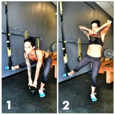 Legs and Abs Bodyweight Circuit.  #trx #circuit