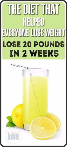 TheDietThat Helped Everyone Lose Weight:20 Pounds Less For Just Two Weeks