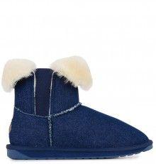 Emu džínové válenky Greenhil Indigo Denim - 2025 Kč Emu, Indigo, Slippers, Australia, Denim, Shoes, Fashion, Moda, Zapatos