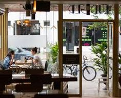 The Gleaner's Cafe Gallery Philadelphia Restaurants, Bar, Coffee Shop, The Neighbourhood, Gallery, Montreal, Amazing, Outdoor Decor, Brunch